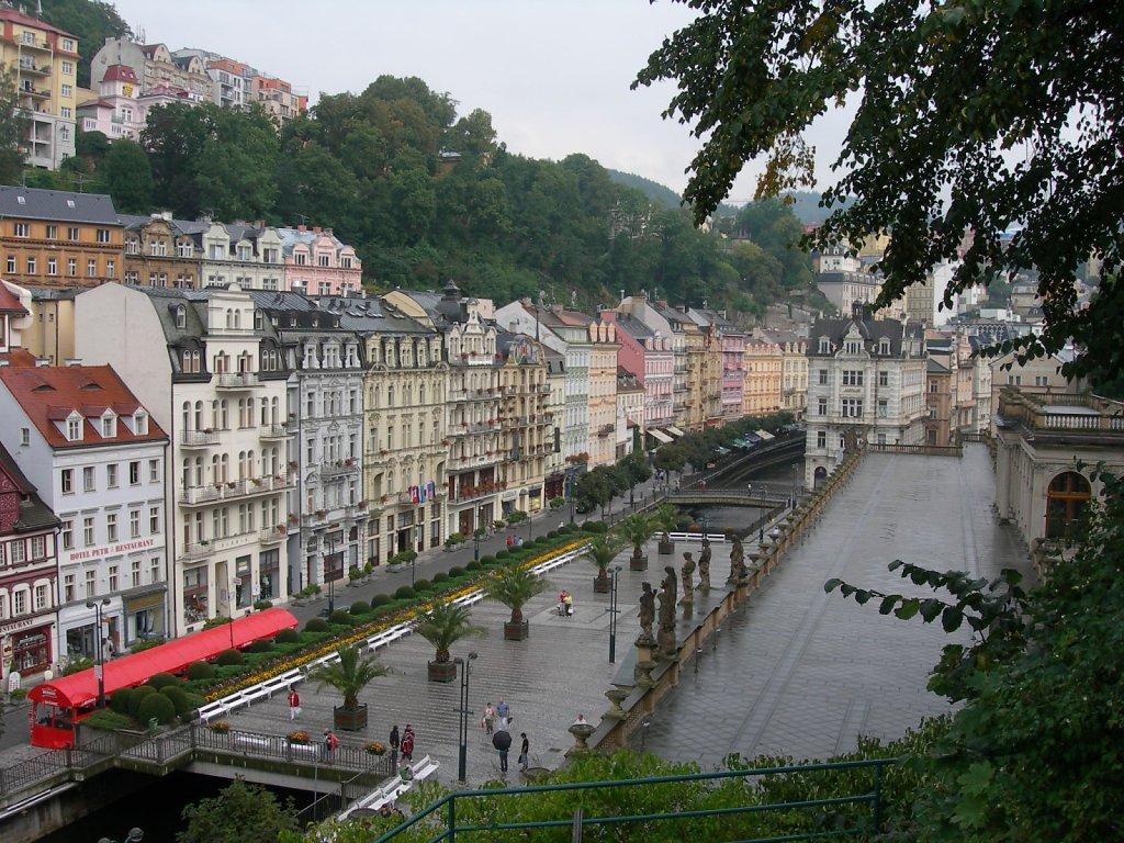 Karlovy Vary or Carlsbad (Czech Republic)